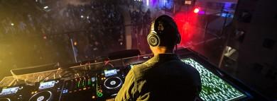 Tiësto mezclando 7UP