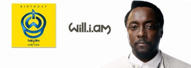 Foto para noticia - Will.I.Am - Birthday