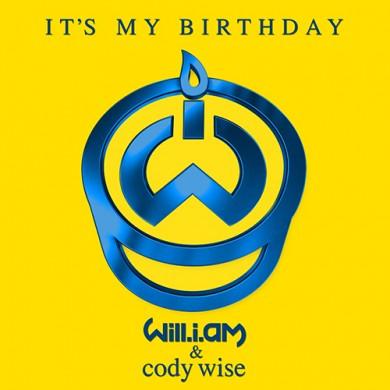 Carátula - Will.I.Am & Cody Wise - It's My Birthday (Zoo Station Remix)