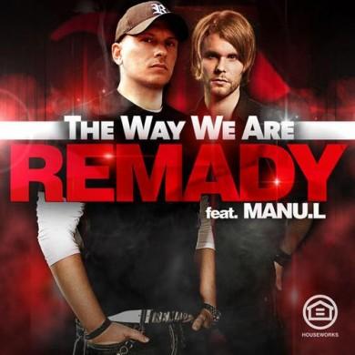 Carátula - Remady feat. Manu L - The Way We Are