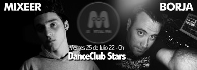 Foto para noticia - danceclubstars - Mixeer - Borja
