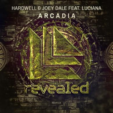 Carátula - Hardwell & Joey Dale feat. Luciana - Arcadia