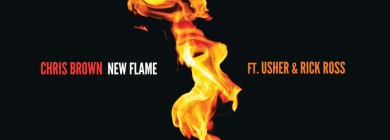 Foto para noticia - Chris Brown - New Flame