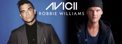Foto para noticia - Avicii & Robbie Williams