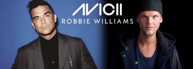 Foto para noticia - Avicii & Robbie Williams