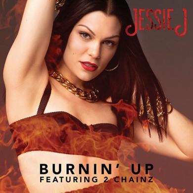 Carátula - Jessie J feat. 2 Chainz - Burnin Up