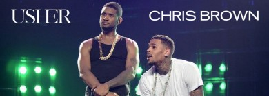 Foto para noticia - Usher & Chris Brown