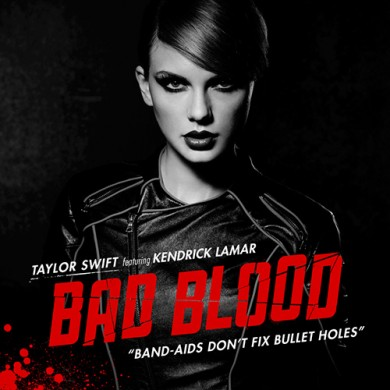 Carátula - Taylor Swift Feat. Kendrick Lamar - Bad Blood