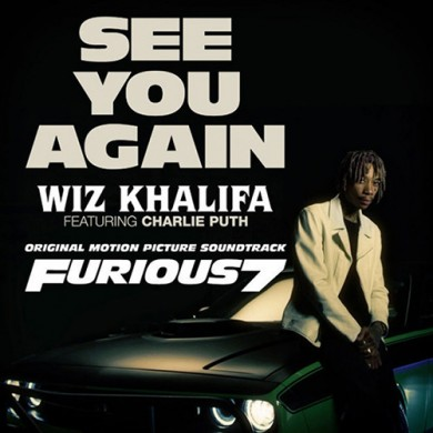 Carátula - Wiz Khalifa feat. Charlie Puth - See You Again