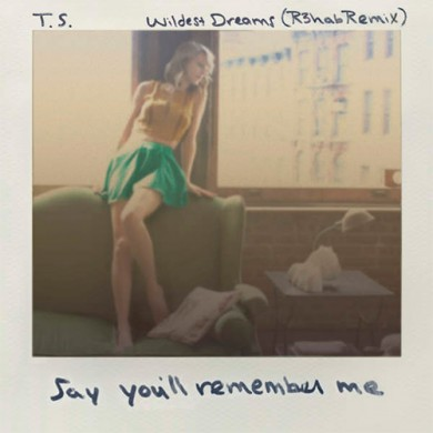 Carátula - Taylor Swift - Wildest Dreams (R3hab Remix)