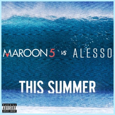 Carátula - Maroon 5 & Alesso - This Summer