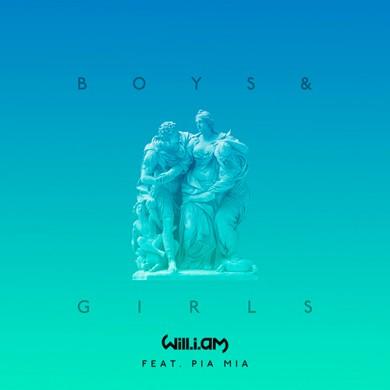 Carátula - Will I Am feat. Pia Mia - Boys & Girls