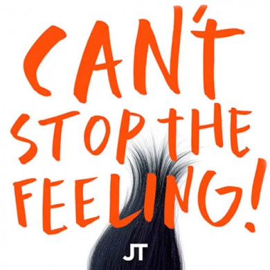 Carátula - Justin Timberlake - Can't Stop The Feeling