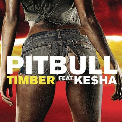 Carátula -Pitbull feat. Ke$ha - Timber