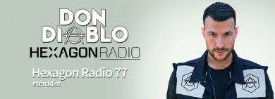 Portada Don Diablo Hexagon Radio 77