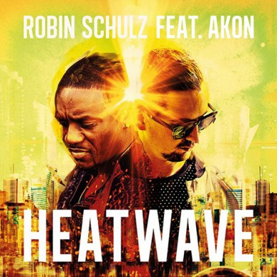 Carátula - Robin Schulz feat. Akon - Heatwave