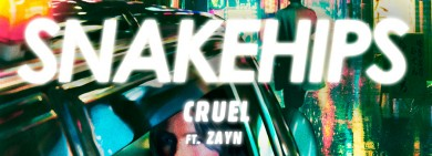 Foto para noticia - Snakehips feat. Zayn - Cruel