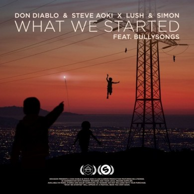Carátula - Don Diablo & Steve Aoki - What We Started