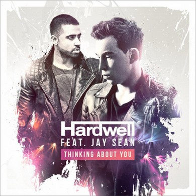 Carátula - Hardwell feat. Jay Sean - Thinking About You