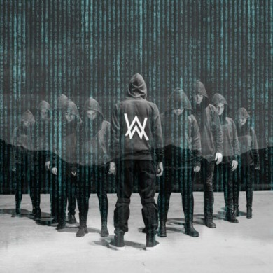 Carátula - Alan Walker - Alone
