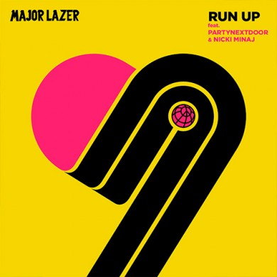 Carátula - Major Lazer - Run Up