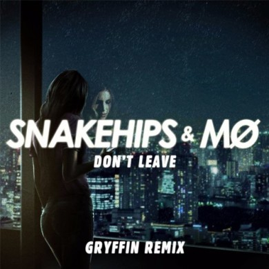 Carátula - Snakehips - Don't Leave