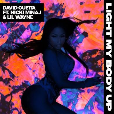 Carátula - David Guetta - Light My Body Up