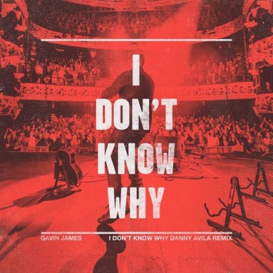 Carátula - Gavin James - I Don't Know Why (Danny Avila Remix)