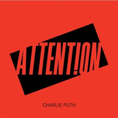 Carátula - Charlie Puth - Attention