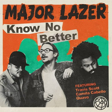 Carátula - Major Lazer - Know You Better