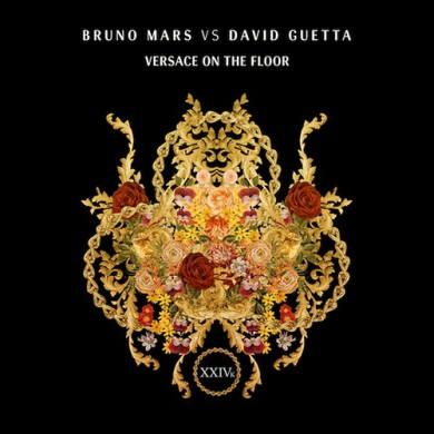 Carátula - Bruno Mars vs. David Guetta - Versace On The Floor