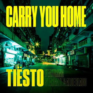 Carátula - Tiesto - Carry You Home