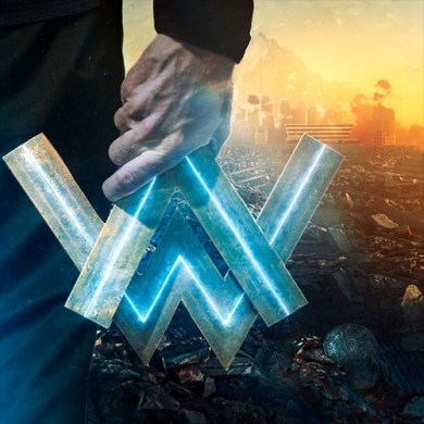 Carátula - Alan Walker - All Falls Down