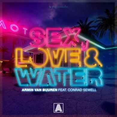 Carátula - Armin Van Buuren - Sex Love & Water
