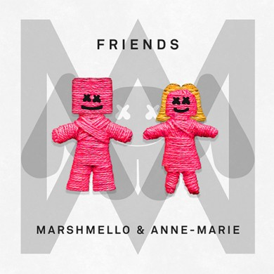 Carátula - Marshmello - Friends