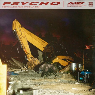Carátula - Post Malone - Psycho