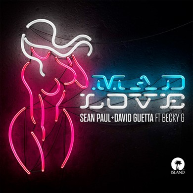 Carátula - Sean Paul feat. Becky G - Mad Love