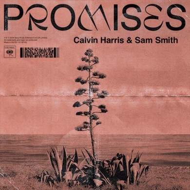 Carátula - Calvin Harris feat. Sam Smith - Promises