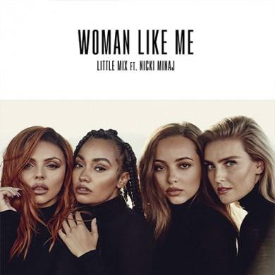 Carátula - Little Mix - Woman Like Me