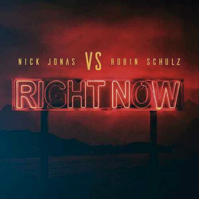 Carátula - Nick Jonas & Robin Schulz - Right Now