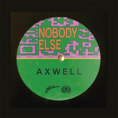 Carátula - Axwell - Nobody Else