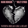 Carátula de Mark Ronson feat. Miley Cyrus - Nothing Breaks Like A Heart