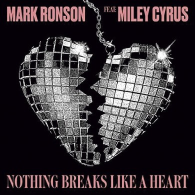 Carátula - Mark Ronson feat. Miley Cyrus - Nothing Breaks Like A Heart