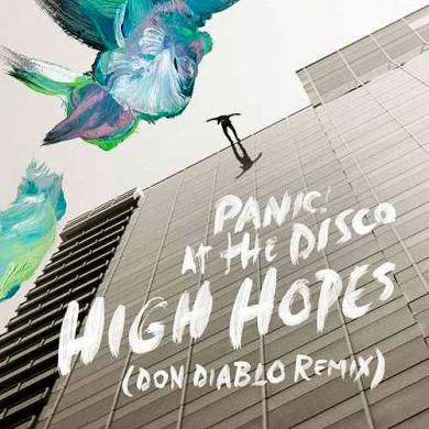 Carátula - Panic At The Disco - High Hopes