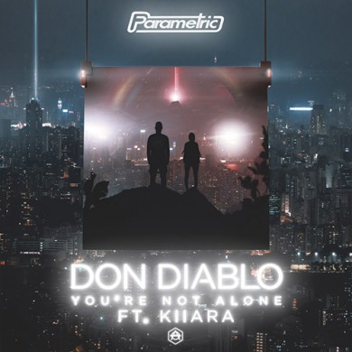 Carátula - Don Diablo feat. Kiiara - You're Not Alone