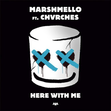 Carátula - Marshmello feat. Chvrches - Here With Me