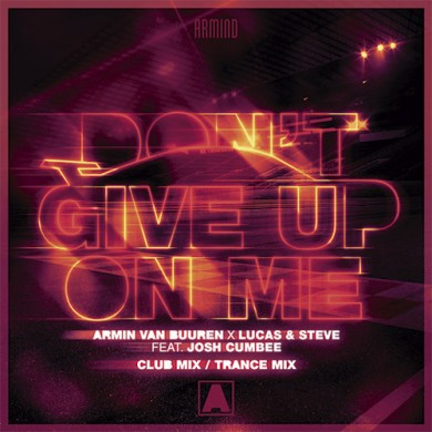 Carátula - Armin Van Buuren - Don't Give Up On Me