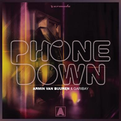 Carátula - Armin Van Buuren & Garibay - Phone Down