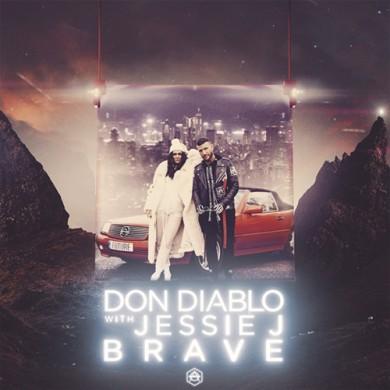 Carátula - Don Diablo & Jessie J - Brave