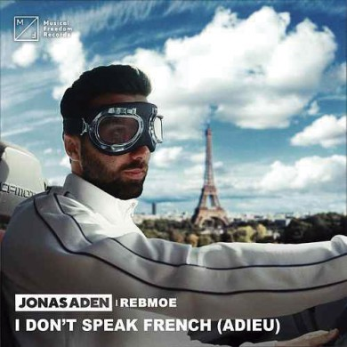 Carátula - Jonas Aden - I Don't Speak French